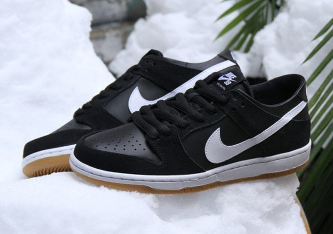 Nike SB Dunk Low Pro Black Gum White 854866-019 | SneakerFiles