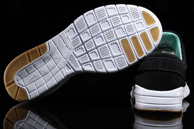 Janoski Verde Negro Max Nike Sb Y1MBS4