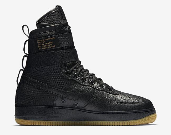 Nike SF-AF1 Black Gum Release Date