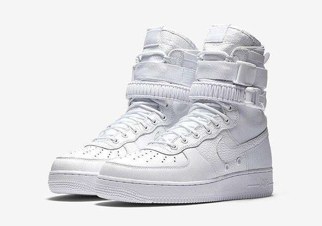 Nike SF-AF1 Triple White Restock Europe
