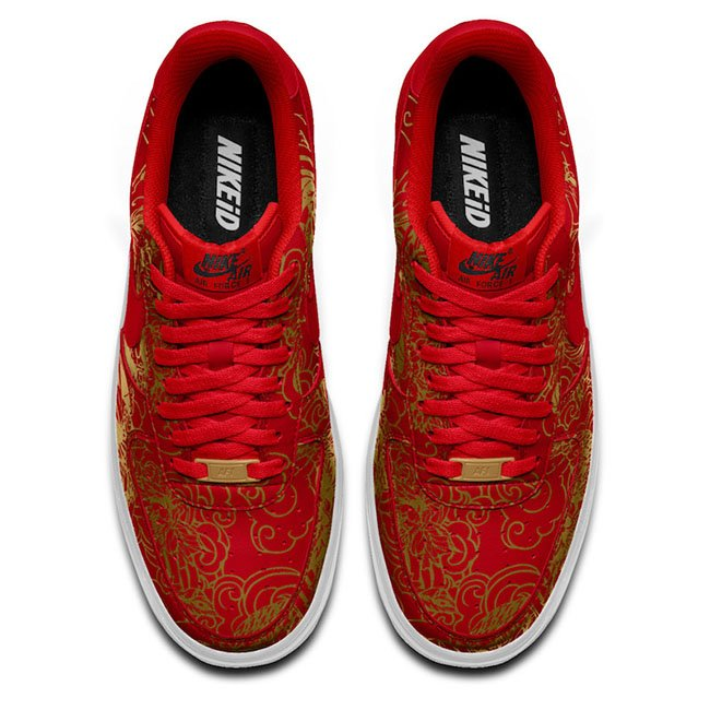 NikeID Air Force 1 Low Chinese New Year
