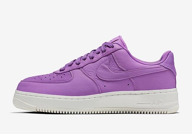 NikeLab Air Force 1 Low Citron Purple Stardust