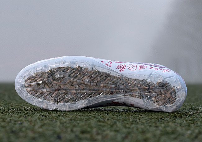 Odell Beckham Jr Nike Vapor Untouchable Christmas PE Cleat