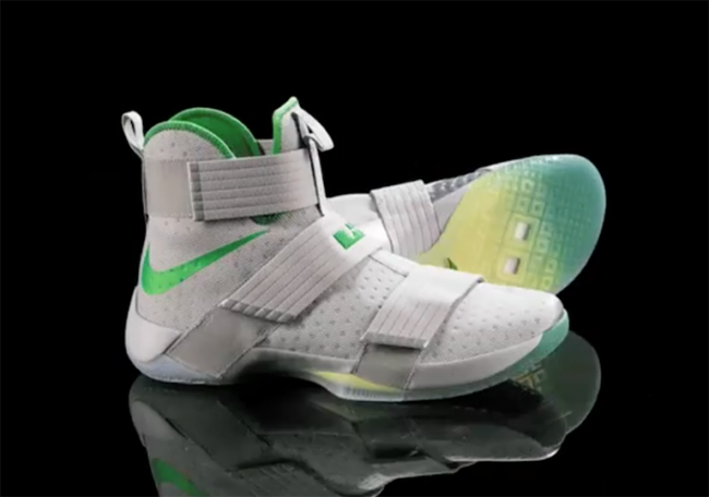 Oregon Ducks Nike LeBron Soldier 10
