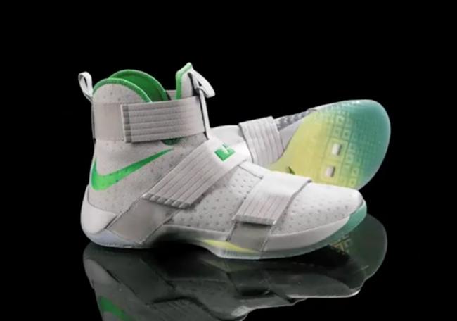 Oregon Ducks Nike LeBron Soldier 10
