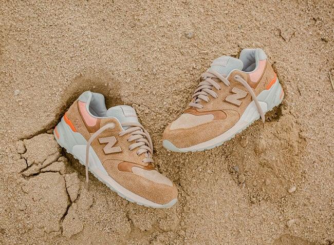 Packer Shoes x New Balance 999 Camel