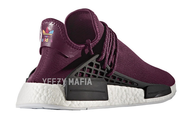 Pharrell adidas NMD HU Noble Crimson