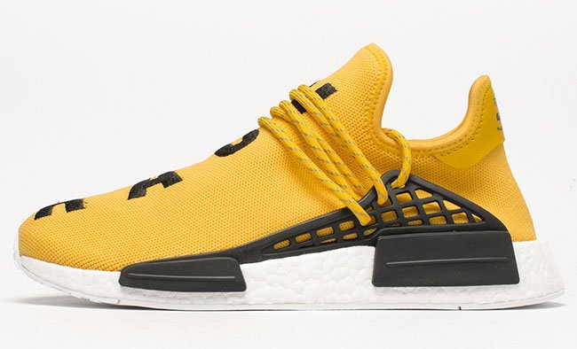 Pharrell x adidas NMD Human Race Yellow