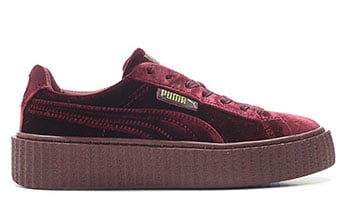 Puma Creeper Velvet Bordeaux