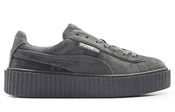 Puma Creeper Velvet Dark Grey