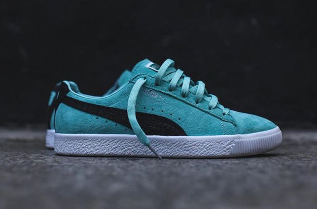 92bb9fd1590 Puma x Diamond Supply Co. Clyde Tiffany Blue