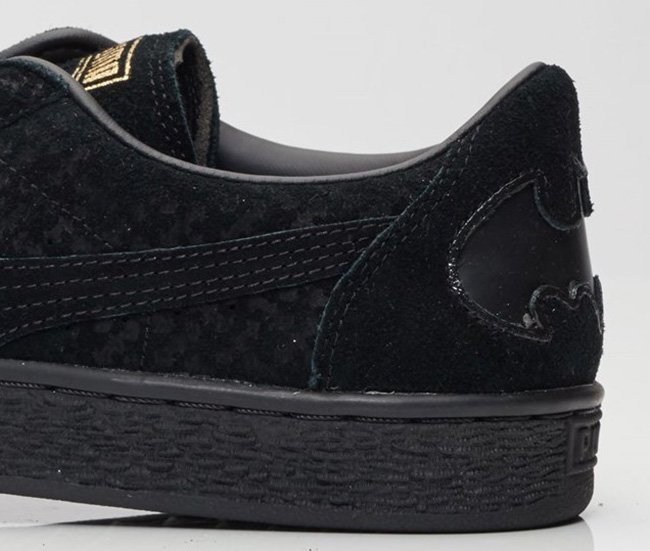 Puma Suede Batman Black Gold