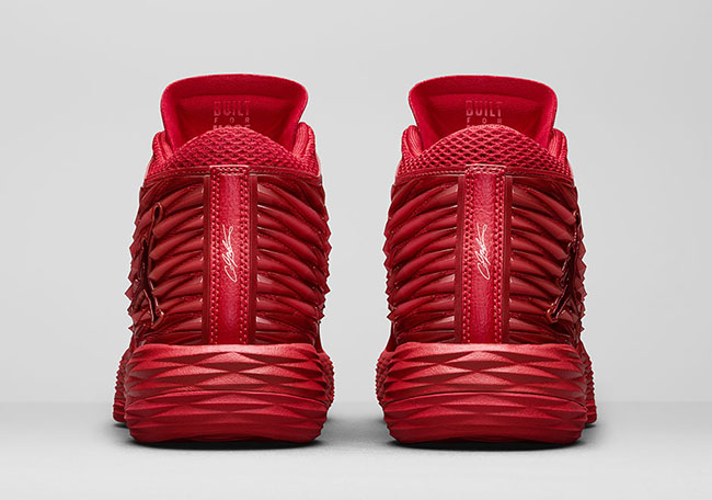 7a651b37c33 Red Jordan Melo M13 Christmas