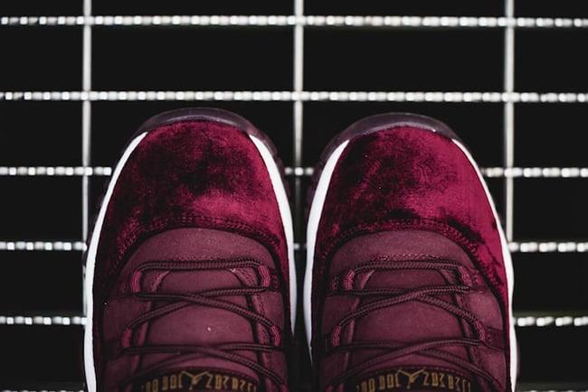 2aaadadab49a1 Air Jordan 11 Red Velvet Release Date