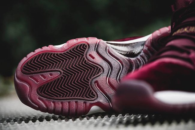 Red Velvet Air Jordan 11 Night Maroon