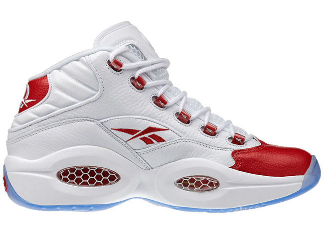 Reebok Question OG White Red Toe