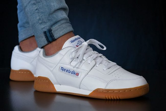 low priced 1d198 2ae7b Reebok Workout Plus R12 White Gum