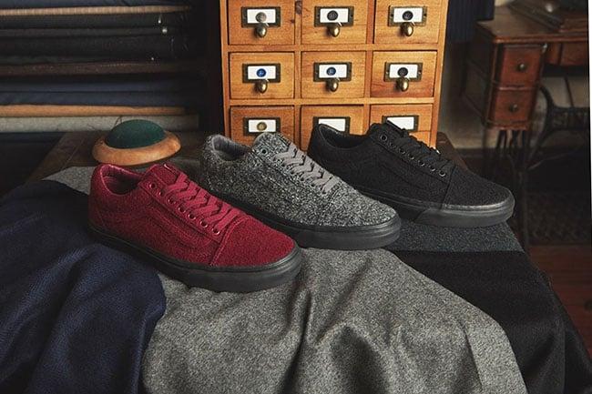 size? x Vans Old Skool Wool Pack