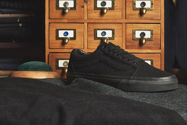 size? x Vans Old Skool Wool Pack