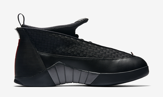 Stealth Air Jordan 15 OG Black Red