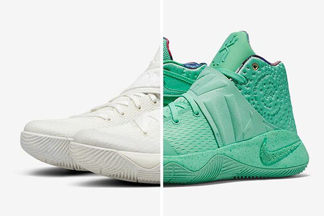 What The Nike Kyrie 2 Sail Green Glow