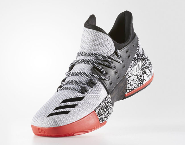 adidas Dame 3 Chinese New Year of The Rooster