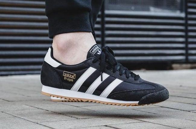 adidas Dragon OG Black Clear Brown | SneakerFiles