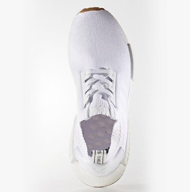 adidas NMD R1 Primeknit White Gum Pack