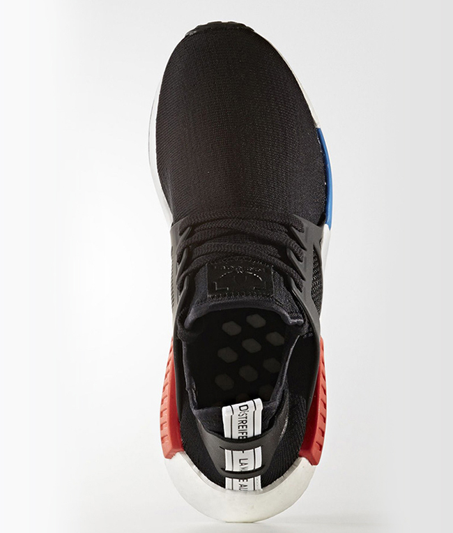 adidas NMD XR1 OG Black Red Blue