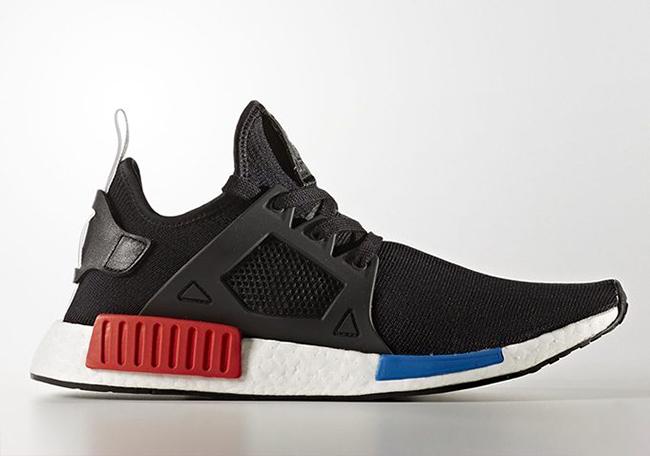 adidas NMD XR1 OG Black Red Blue