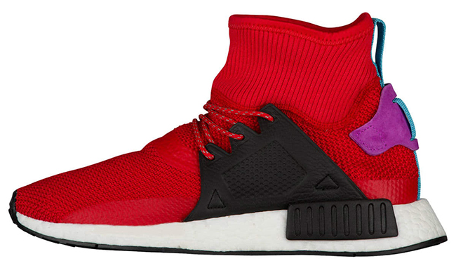 adidas NMD XR1 Winter Scarlet Shock Purple BZ0632