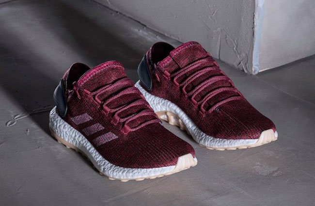 adidas Pure Boost 2.0 Burgundy   SneakerFiles