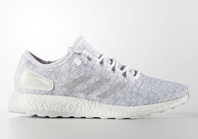 adidas Pure Boost Clear Grey Footwear White