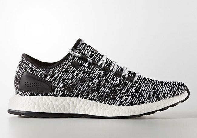 adidas Pure Boost Core Black Footwear White