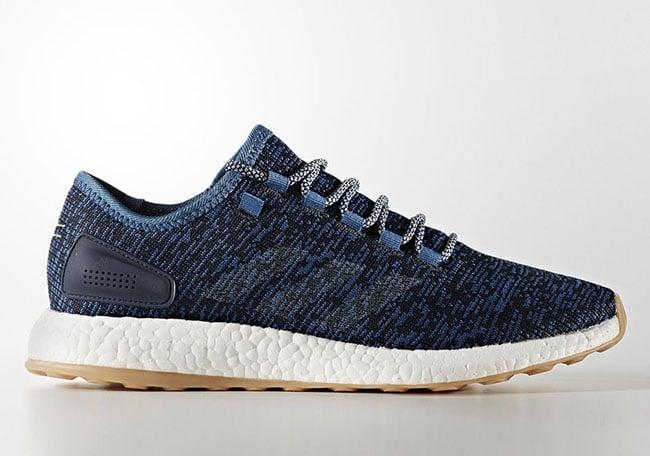 adidas Pure Boost Core Blue Linen Midnight Navy