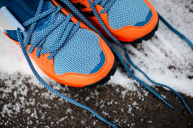 adidas Response Trail Boost Core Blue Energy Orange