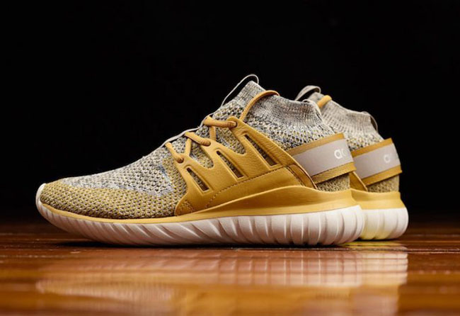 Adidas Tubular Radial Primeknit Men 's Running Shoes