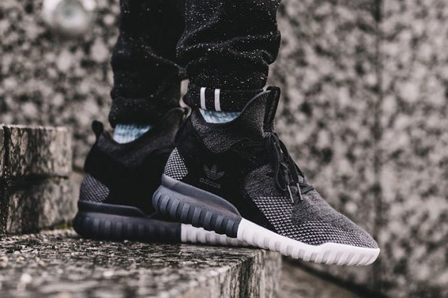 adidas Originals TUBULAR X 2.0 PK Høye joggesko black