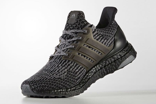 adidas Ultra Boost 3.0 Black Silver