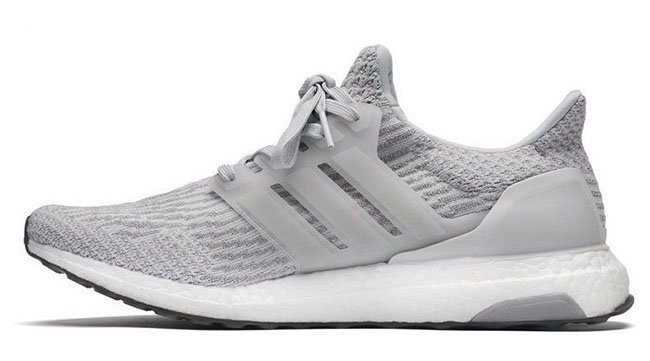 adidas Ultra Boost 3.0 Grey White