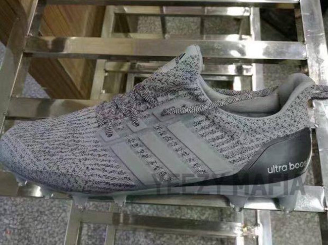 7f16caf1c79d0 adidas Ultra Boost Cleats Silver