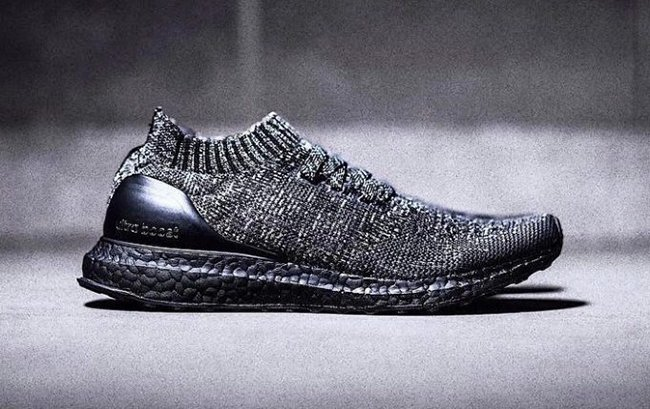 adidas Ultra Boost Uncaged Black Wool