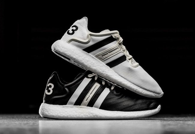 137a02d387615 adidas Y-3 Yohji Run Boost White Black