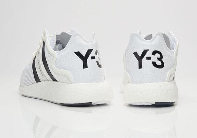 adidas Y-3 Yohji Boost White Black 2017 Release