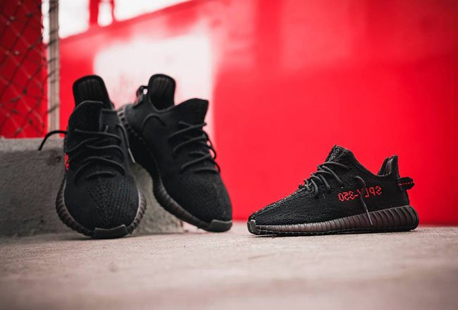 Cheap Yeezy 350 V2 Bred Boost Sale Outlet 2017 (Pirate Black).