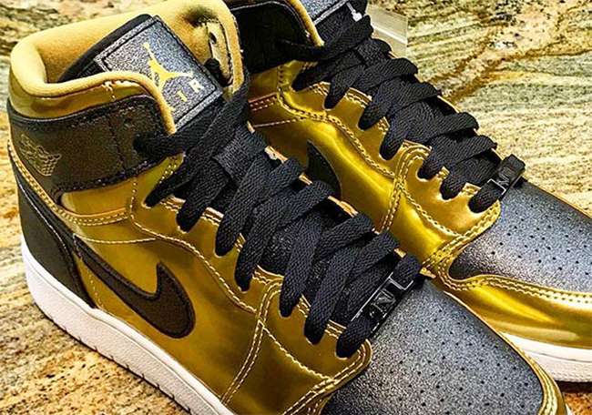 First Look: Girls Air Jordan 1 BHM