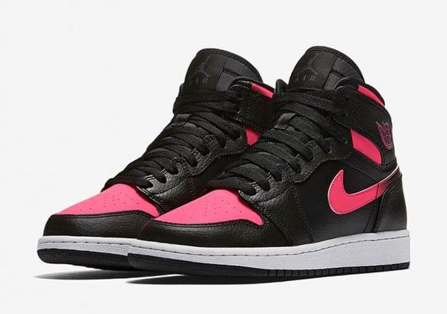 0bd35d247b6d Air Jordan 1 GS Hyper Vivid Pink 332148-019 Release Date