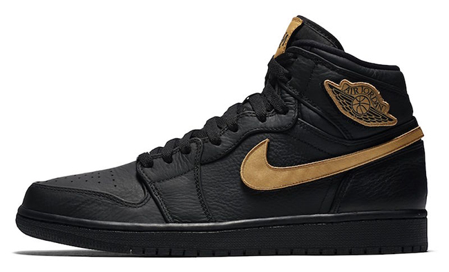 Air Jordan 1 High BHM Black History Month 2017
