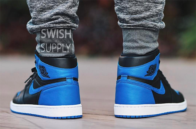 Air Jordan 1 OG Royal On Feet