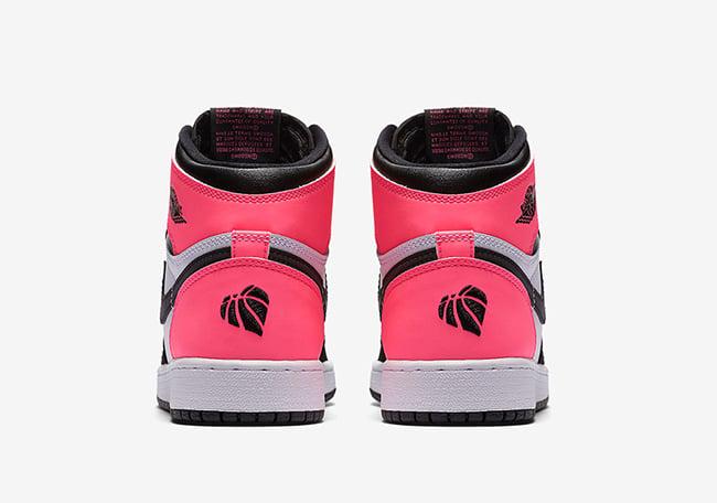 Air Jordan 1 Retro High OG Valentines Day Pink Black